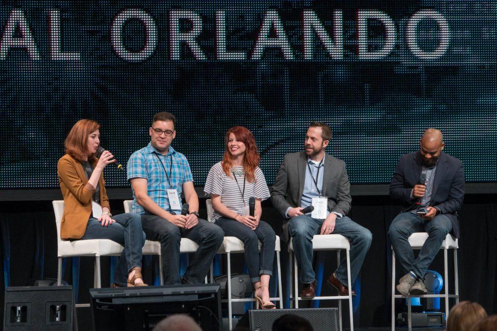 Panel discussion at Digital Orlando