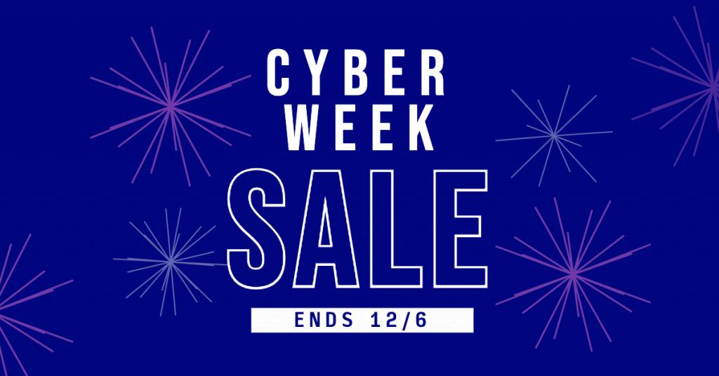Cyber Week Sale 2019