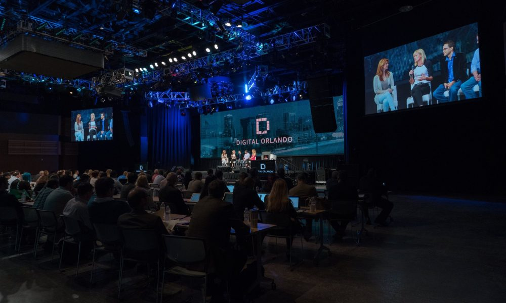 Wide view of Digital Orlando conference